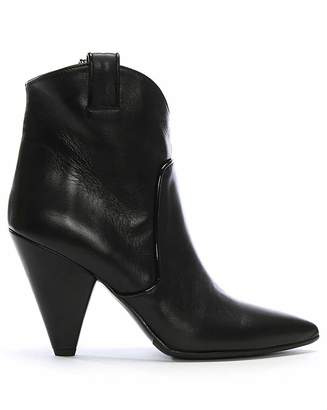 Daniel Footwear Daniel Ideal Leather Western Ankle Boots