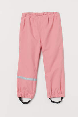 H&M Waterproof Shell Pants - Pink