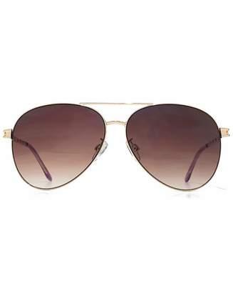 VivaLaDiva Viva La Diva Cara Aviator Sunglasses