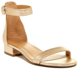 Franco Sarto Swan Ankle Strap Sandal $89 thestylecure.com