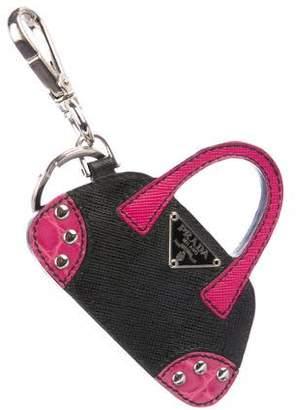Prada Bauletto bag charm