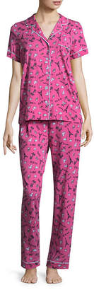 Rene Rofe PILLOW TALK BY Pillow Talk By 2-pc. Geometric Pant Pajama Set