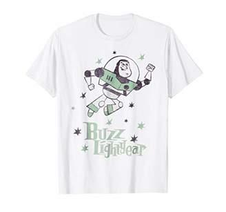 Disney Toy Story Buzz Retro Star Graphic T-Shirt