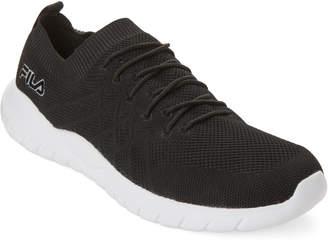 Fila Black Skyweave Mesh Running Sneakers