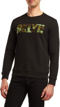 Brooklyn Cloth Camouflage Logo Sweatshirt