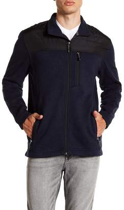 Free Country Long Sleeve Zip Up Fleece Jacket