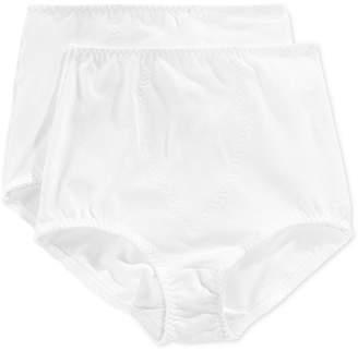 Bali Women's Light Tummy-Control Cotton 2-Pack Brief X037
