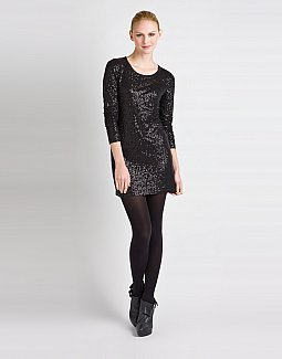 Sequin Mini Dress/Tunic