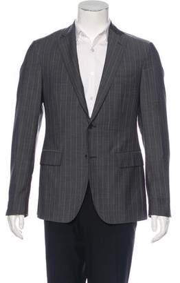 Etro Wool Striped Blazer