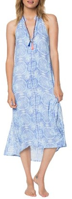 Women's O'Niell Misha Halter Midi Dress $59.50 thestylecure.com