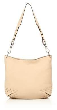 Tod's Gommini Small Leather Hobo Bag