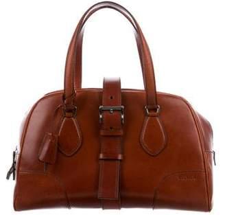 Prada Leather Buckle Bag