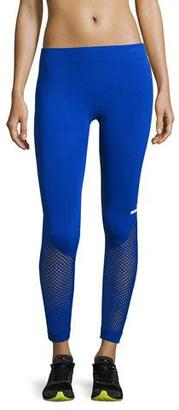 adidas by Stella McCartney The Seamless Mesh Tights, Bold Blue $85 thestylecure.com