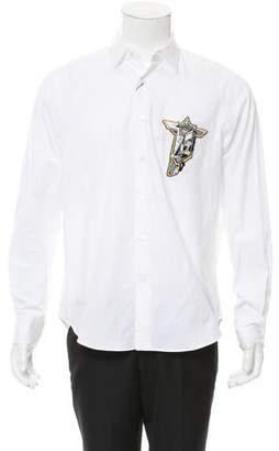 Loewe Embroidered Button-Up Shirt w/ Tags
