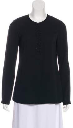 Diane von Furstenberg Silk Crepe Blouse