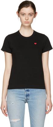 Comme des Garçons Play Black Small Heart T-Shirt $85 thestylecure.com