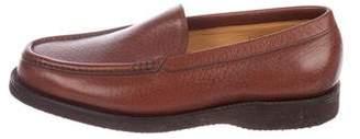 John Lobb Cortina Leather Loafers