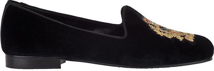 Jon Josef G-Emblem Loafer Black Velvet