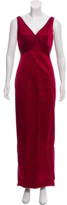 Richard Tyler Sleeveless Long Evening Dress