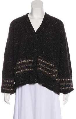 eskandar Wool & Cashmere-Blend Cardigan