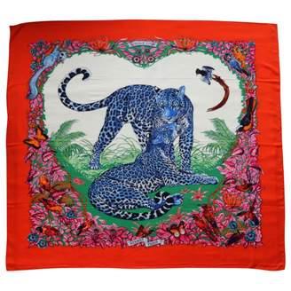 Hermes Châle cashmere silk handkerchief