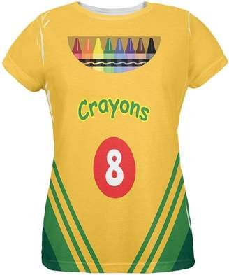Old Glory Halloween Crayon Box Costume All Over Ladies T-Shirt