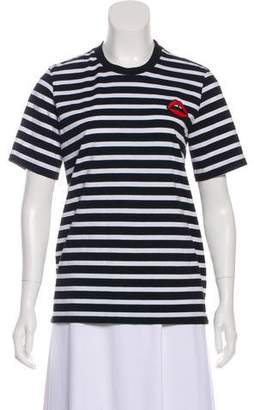 Markus Lupfer Striped Knit T-Shirt