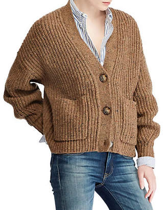 Polo Ralph Lauren Long-Sleeve Ribbed Cardigan