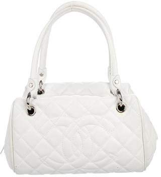 Chanel Quilted CC Bowler