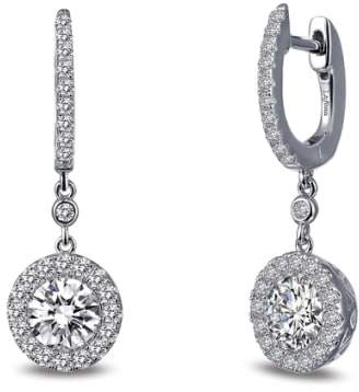Lafonn Classic Halo Drop Earrings