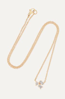 Kimberly McDonald - 18-karat Rose Gold Diamond Necklace