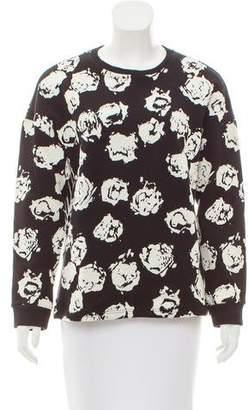 Ungaro Patterned Long Sleeve Sweatshirt
