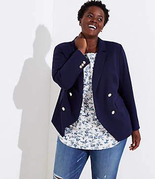 2d833b80aa40c LOFT Women s Blazers - ShopStyle