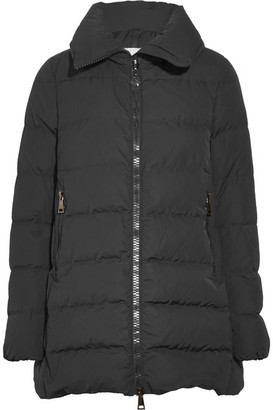 Moncler - Petrea Quilted Shell Down Jacket - Black $995 thestylecure.com