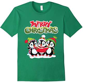 Original Penguin Merry Christmas Penguin T-Shirt - Xmas Gift
