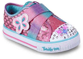Skechers Twinkle Toes Snazzy Skips Toddler Light-Up Sneaker - Girl's