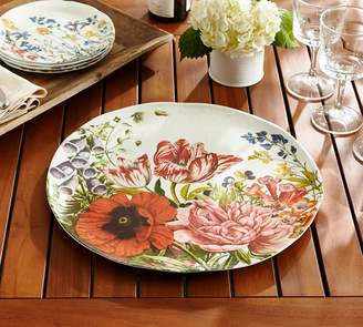 Pottery Barn Flora Melamine Serving Platter