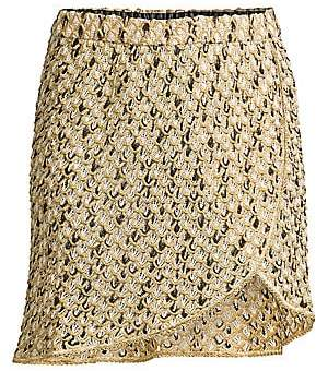Missoni Mare Women's Knit Mini Skirt Coverup
