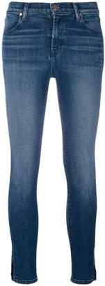 J Brand split cuff jeans
