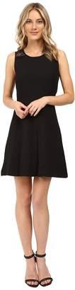 Kensie Textured Dot Dress KS0K7242 Women's Dress