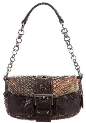 pradaPrada Snakeskin & Crocodile Bag