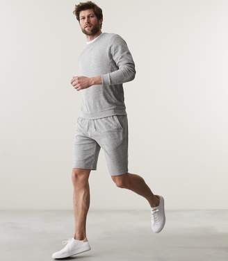 Reiss FINLEY TOWELLING SHORTS Grey