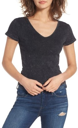 Women's Bp. Washed V-Neck Tee $25 thestylecure.com