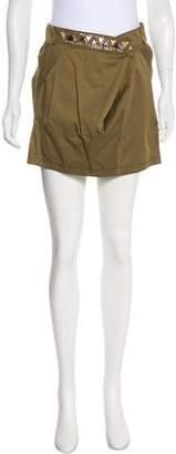 Philosophy di Alberta Ferretti Embellished Mini Skirt w/ Tags