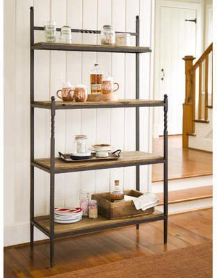 Plow & Hearth Eraman Storage Baker's Rack
