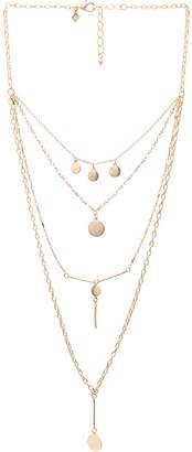 Rebecca Minkoff Circle & Bar Layered Necklace