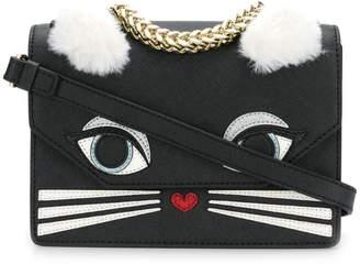 Karl Lagerfeld cat motif tote bag