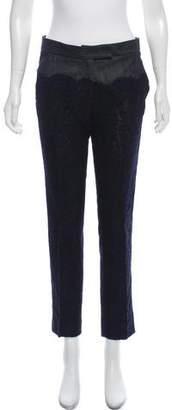 Derek Lam Lace Mid-Rise Pants