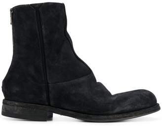 Pantanetti back zip detail boots