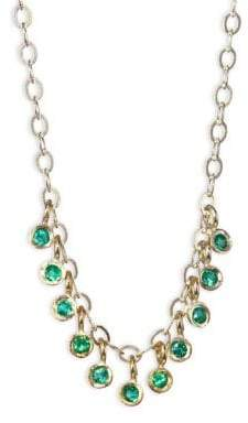 Ila Emerald& 14K Yellow Gold Necklace